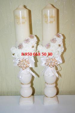 свадебные свечи, таросики спб