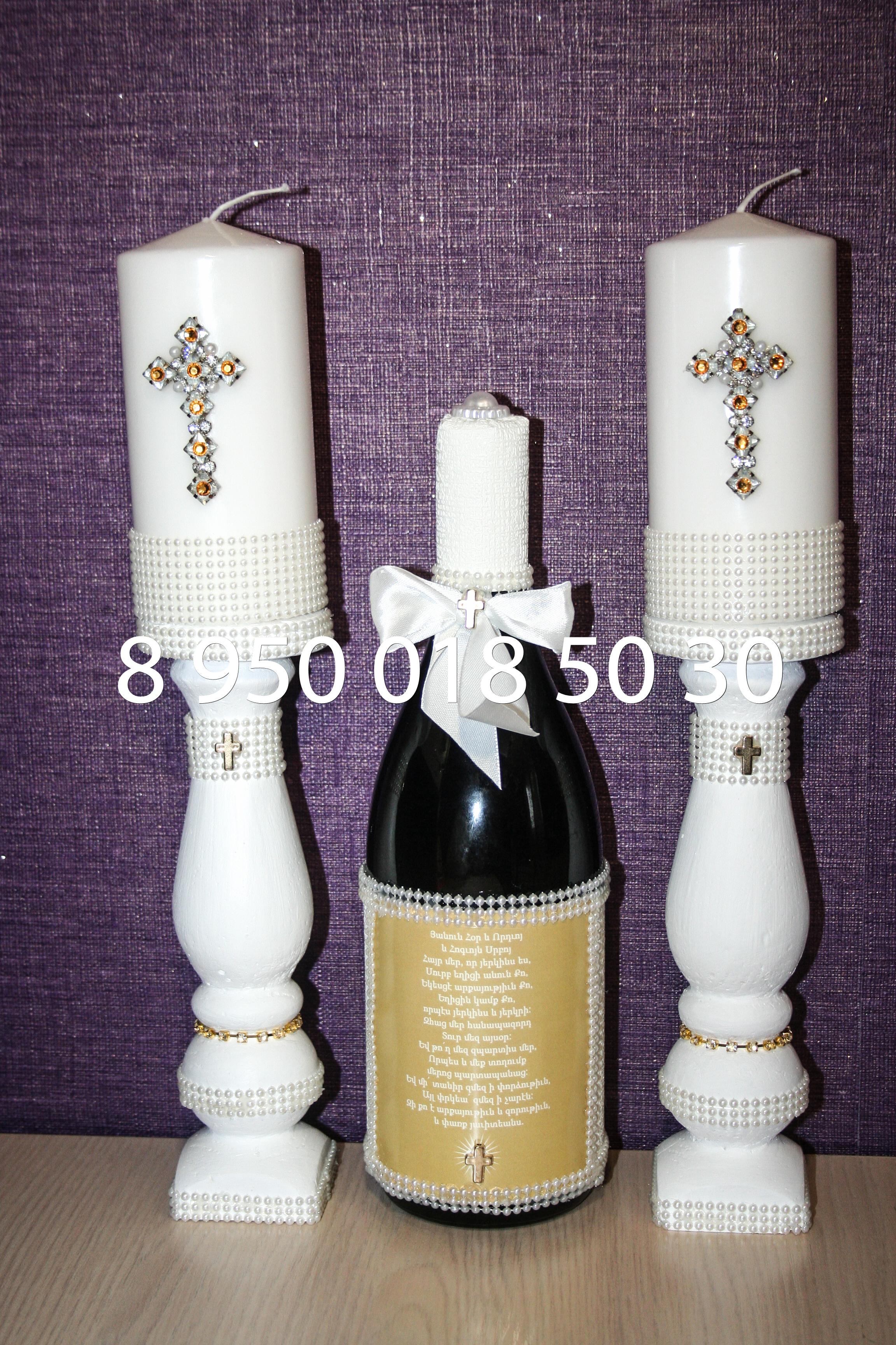 свечи на крестины, таросики