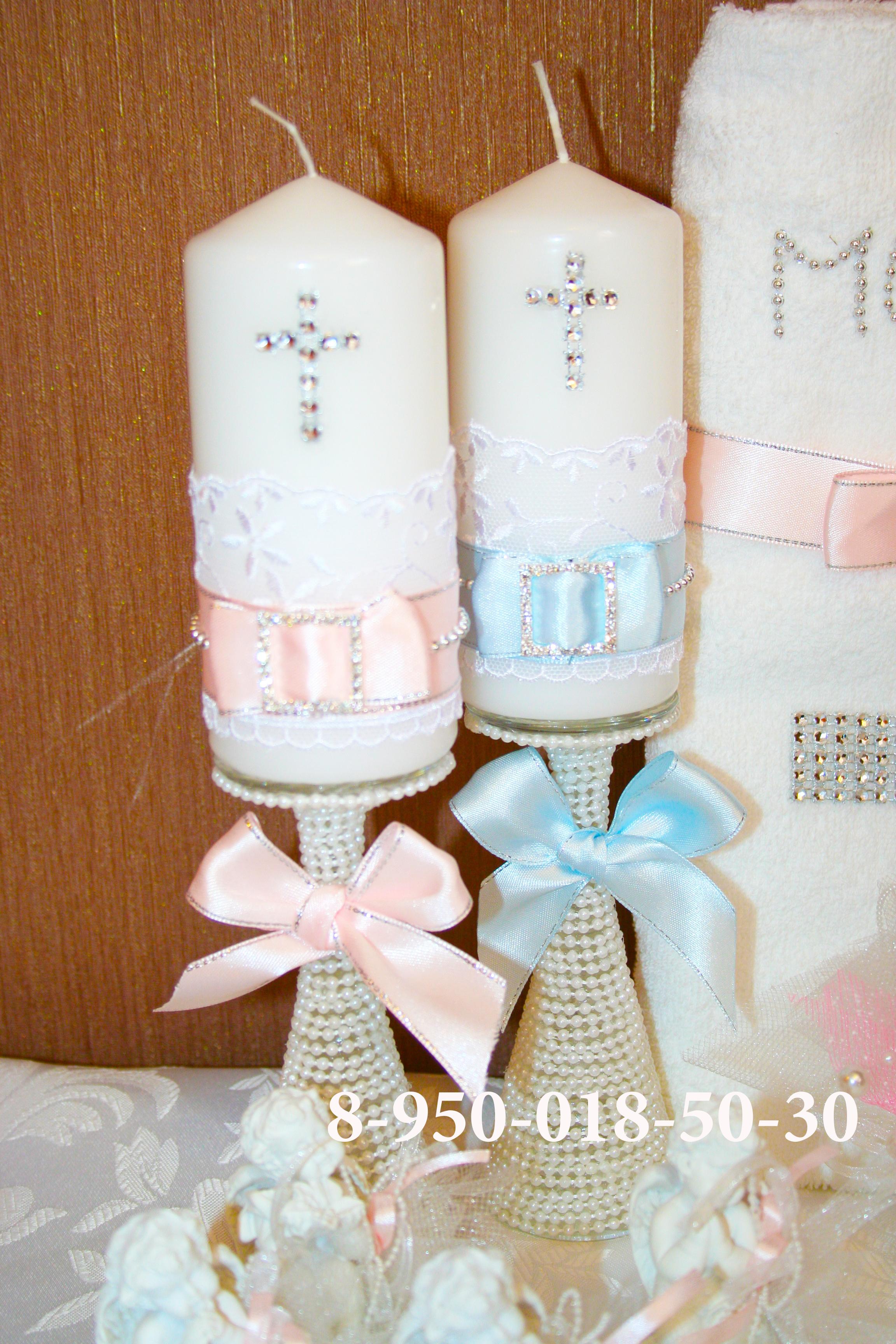 свечи на крещение