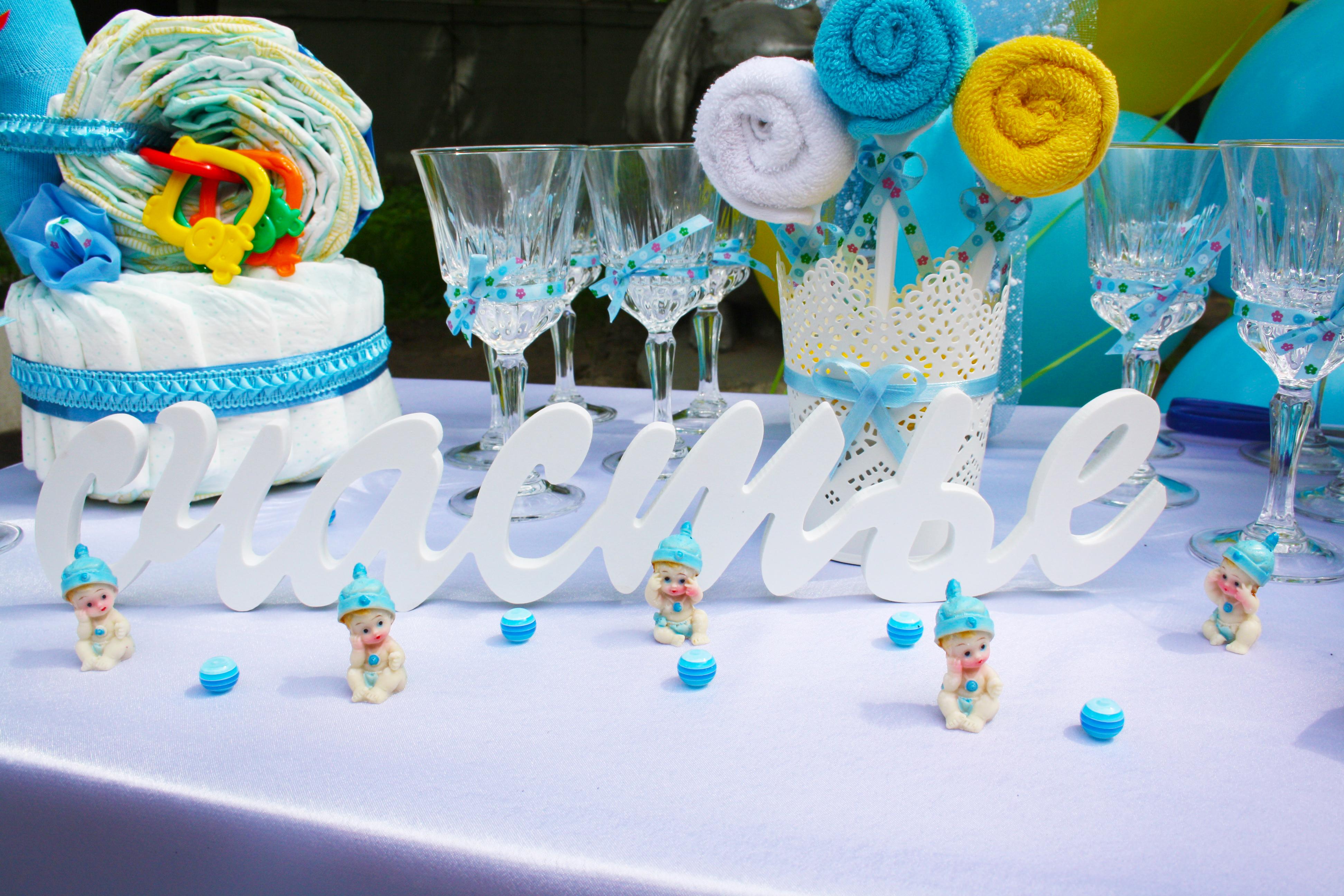 сладкий стол на рождение ребенка