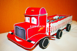 грузовик из конфет, сладкие подарки