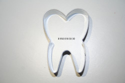 форма для печенья зубик, атаматик