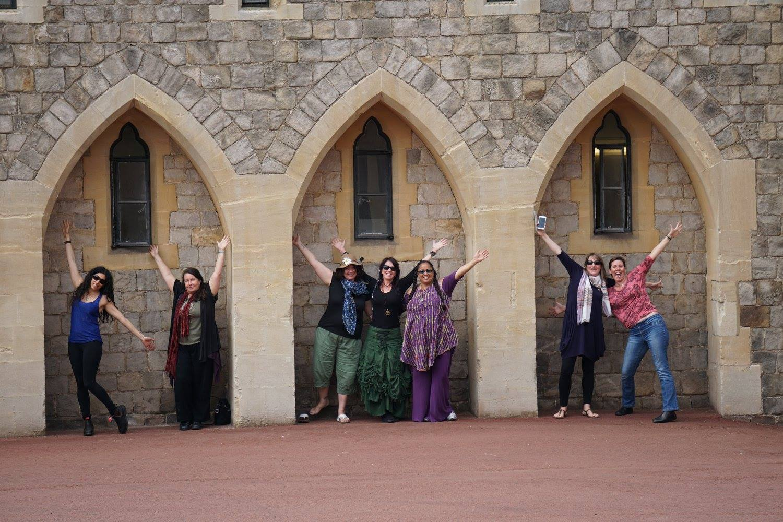 winsor castle, women, travel