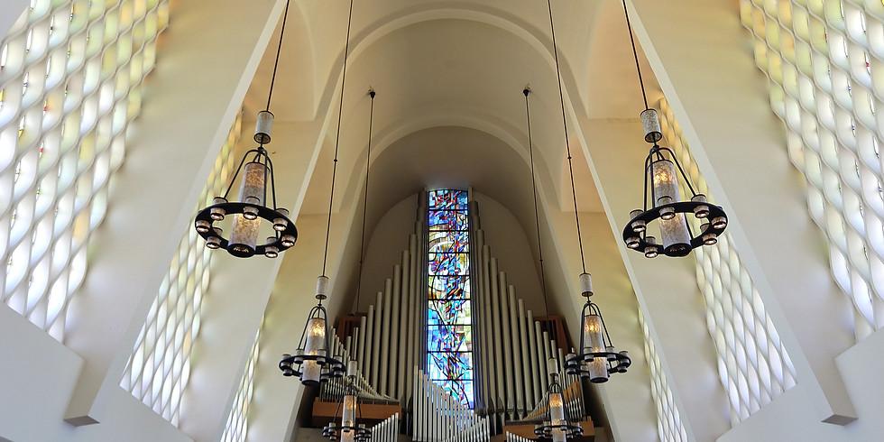 Midday Pipes Organ Series