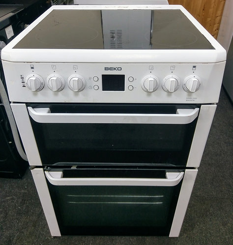 Beko BDVC667W electric cooker