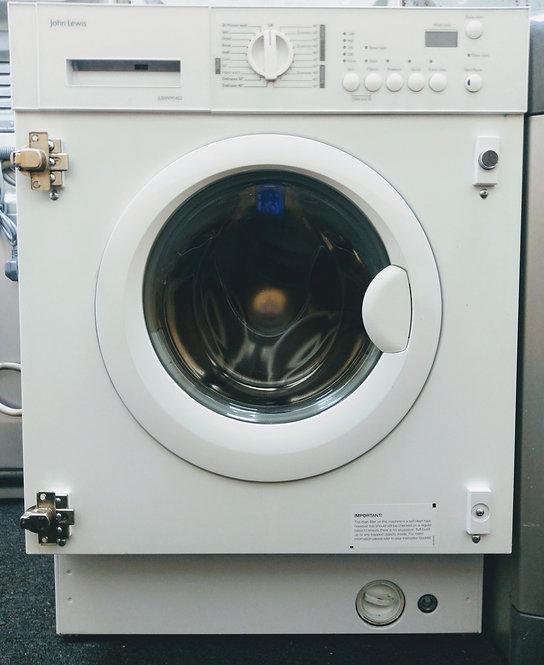 John Lewis JLBIWM1402 built in washing machine