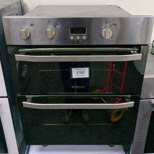 Hotpoint built under double electric oven (no hob)
