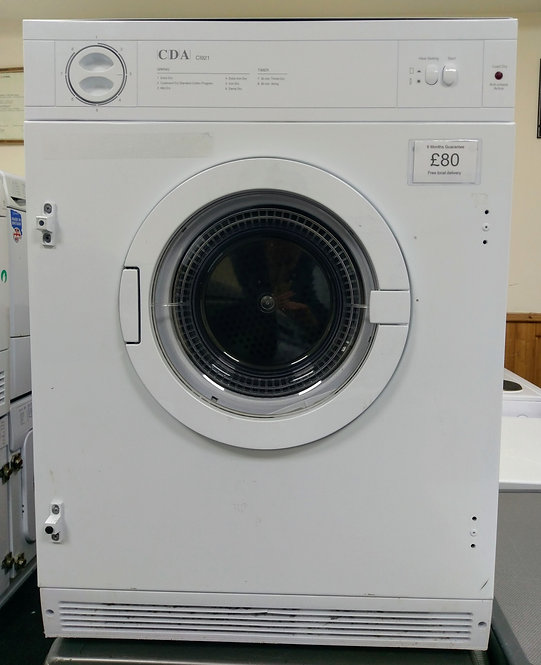 CDA CI921integrated vented dryer