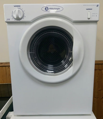 White Knight C37AW  3 kg vented tumble dryer