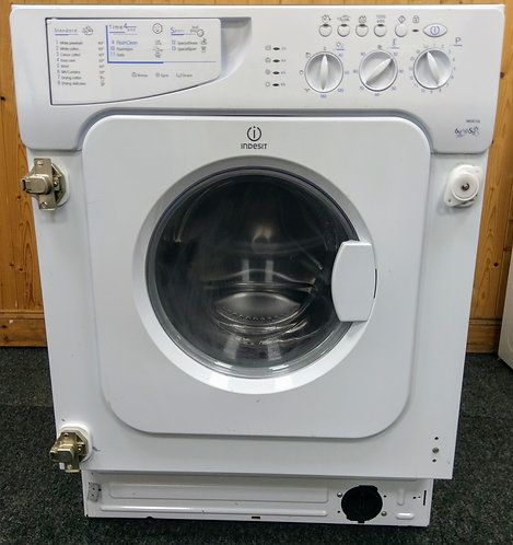 Indesit IWDE126 6+5 kg 1200 spin integrated washer dryer
