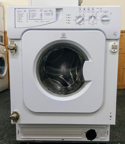 Indesit IWME12  integrated washing machine