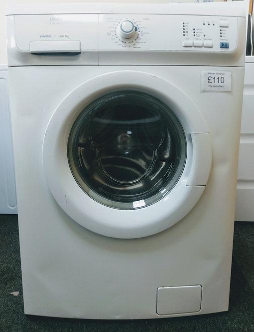 Zanussi ZWF12070W1 6 kg 1200 spin washing machine