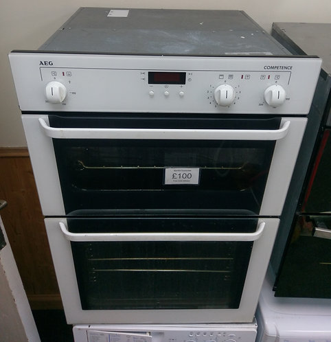 AEG competence integrated electric double oven (No Hob)