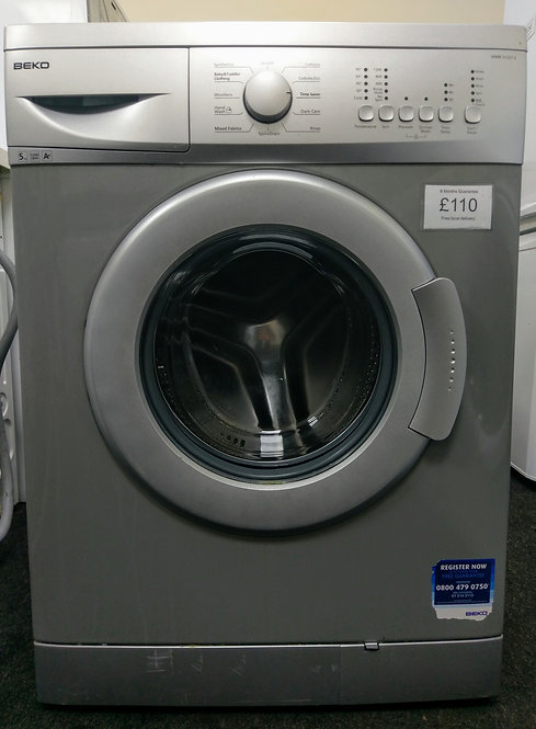 Beko WMB51221S 5 kg 1200 spin washing machine