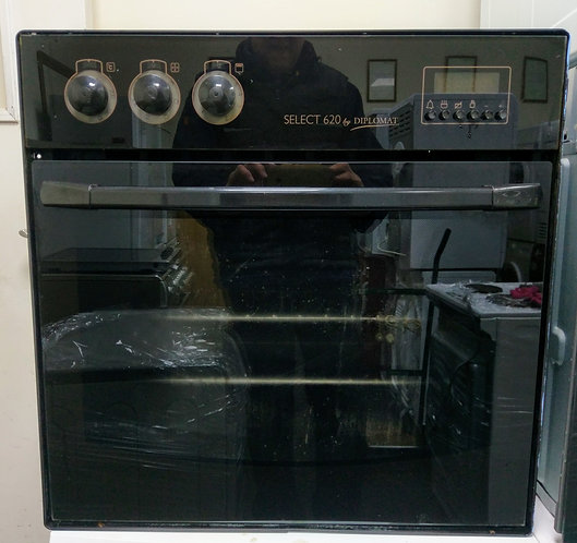Diplomat single electric oven