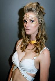 Golden Goddess Festival Makeup