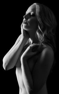 Boudoir bodyscaped nude woman