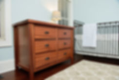 Mahogany Dresser Table, Custom Woodworking Projects, NC Woodworker, Charlotte NC Woodworker, Custom Made, Buy Local