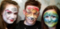 Wow Factor Faces, Face painter Herts, Brown Butterfly face painting