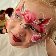 #rose #princess #faceart #facepaint #fes