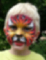 Wow Factor Faces butterfly face paint, face painter Hertfordshire Butterfly