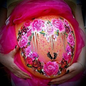 Beautiful.baby bump I had the pleasure o