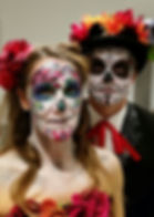 Wow Factor Faces, Face Paint child, green monster, Face Painter Herts