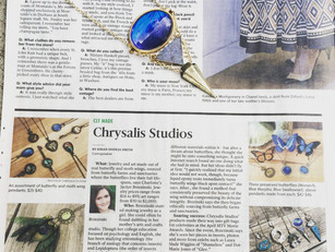 """The Charlotte Observer features Chrysalis Studios in """"CLT Made""""!"""