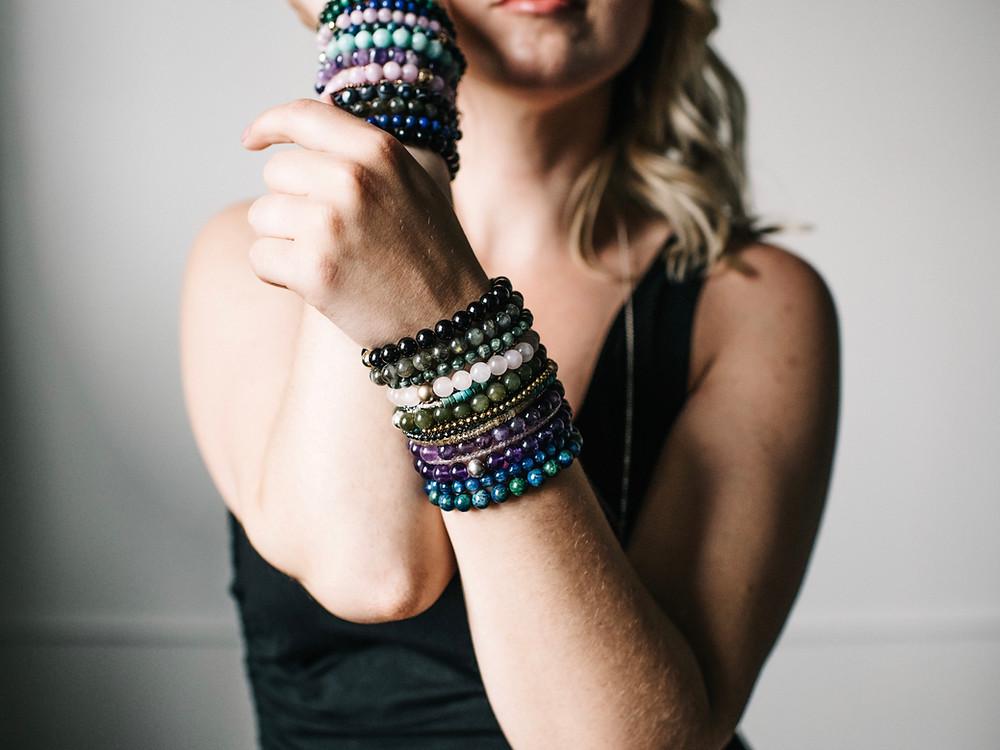 Gems by Kelley crystal bracelets
