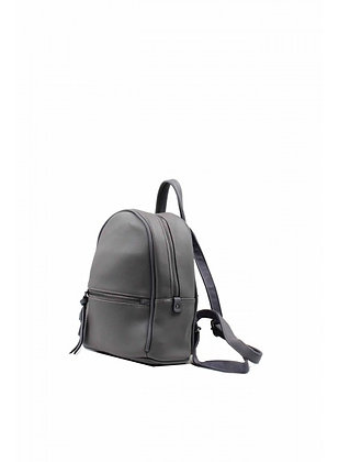Mini sac à dos gris