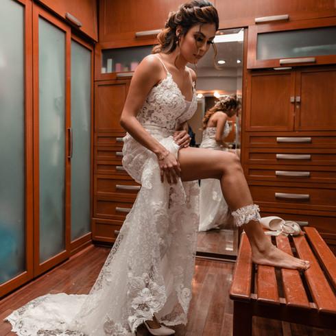 Arreglo de la novia.