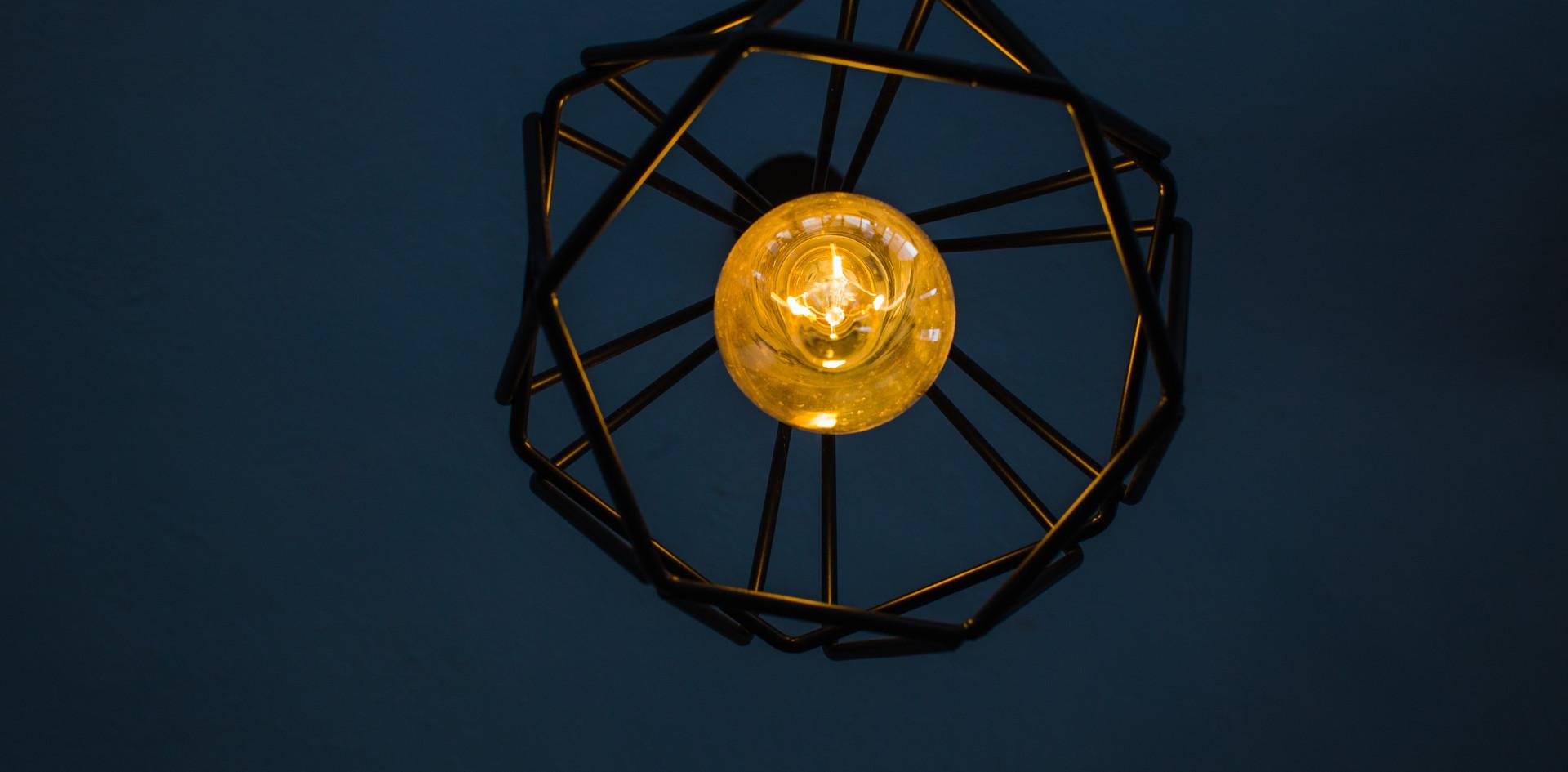Detalle lámpara.