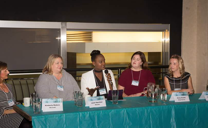 """Moderated Ryerson Women In Leadership and DECA Ontario panel: """"Building for the Future: --- 2017"""