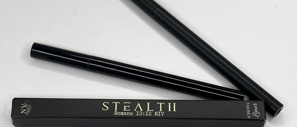 Stealth Eyeliner and Lash adhesive