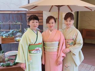 ヨガ的日常にも通じる??!凛とした日本人文化を学ぶ♡お着物ランチ会に行ってまいりました