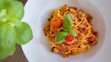 Pasta delivered in North End Road and We
