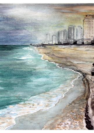 עלות השחר - חוף ראשון לציון