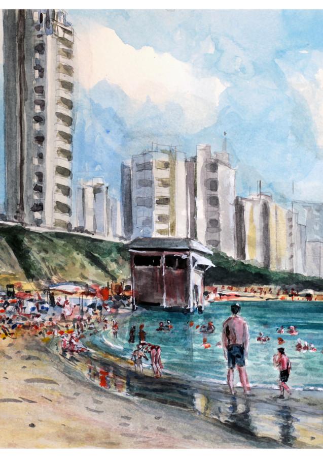 סוף החופש הגדול - חוף בת ים