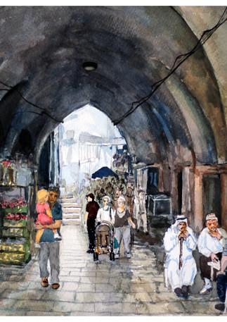 השוק בעיר העתיקה, ירושלים