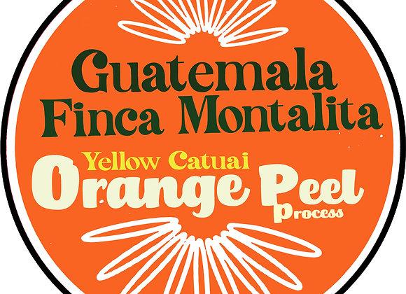 Guatemala Finca La Montañita  (orange peel)
