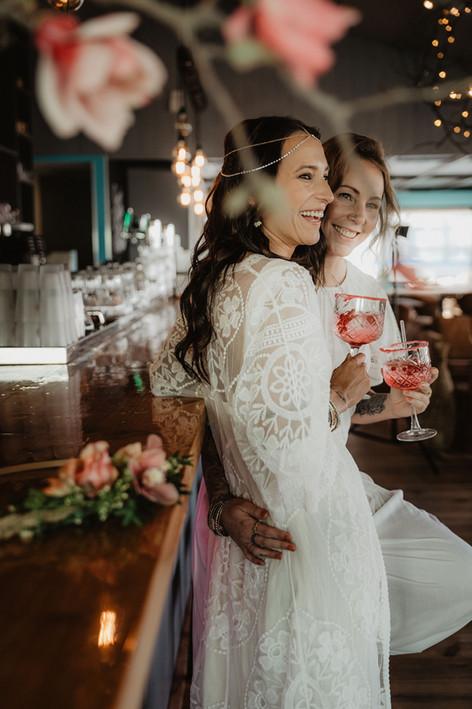 Bohemian Winter Wedding