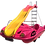 Thumbnail: Pedal Boat HydroFerrari