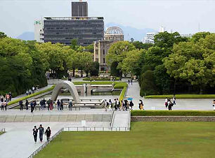 Peace Park and Hiroshima Castle Tour