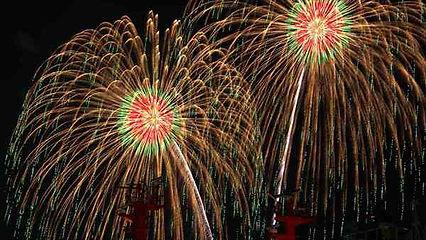 Fireworks in Hiroshima