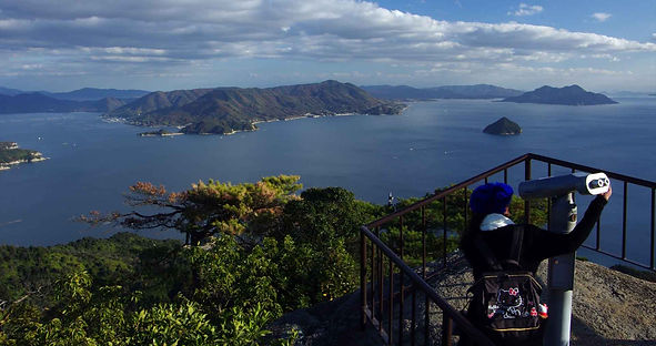 View from Shishiiwa Staton in Miyajima