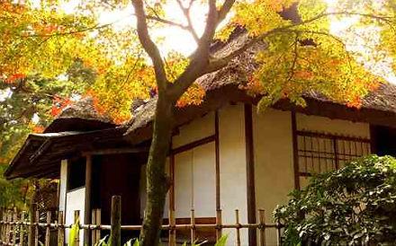 Tea House in Shukkeien Garden