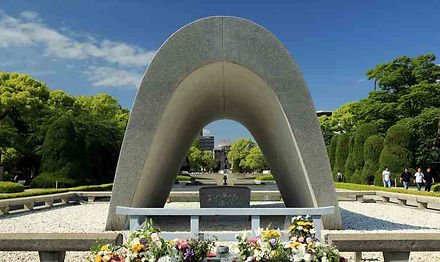 Cenotaph for the victims of the Atomic Bomb