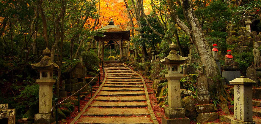 Mitaki Temple in autumn