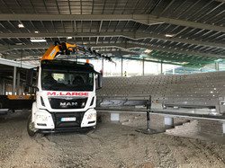 On site with Moore Concrete