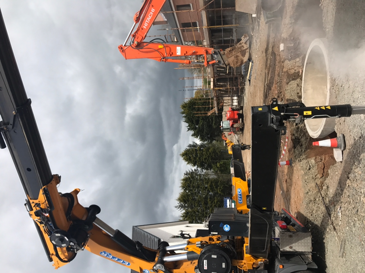 Drain installation with FP McCann